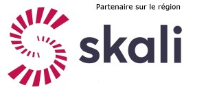 SKALI logo Courrier