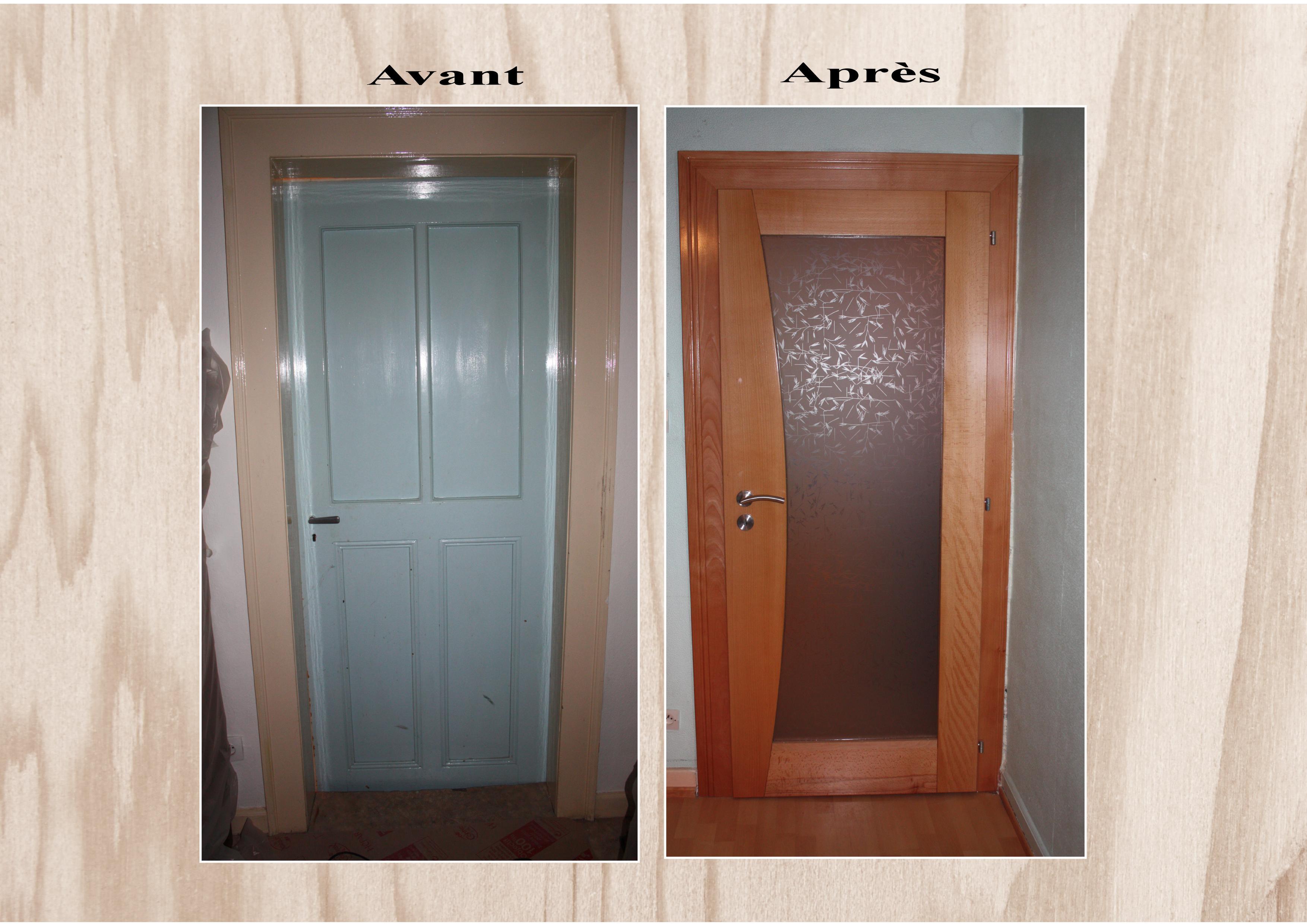 Rénovation de portes int.